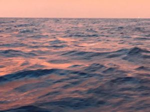 Mare al tramonto, Eolie
