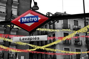 Metro Lavapies, Madrid